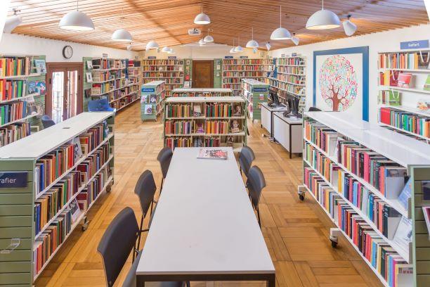 Bibliotekssalen Dragør