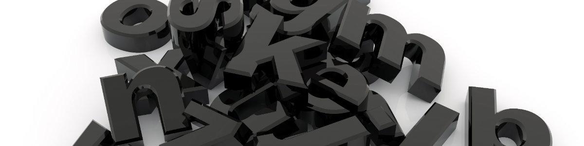 Bogstaver i en bunke