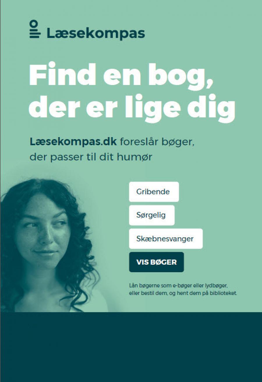 Læsekompas. Find en bog, der er lige dig. Læsekompas.dk foreslår bøger, der passer til dit humør.