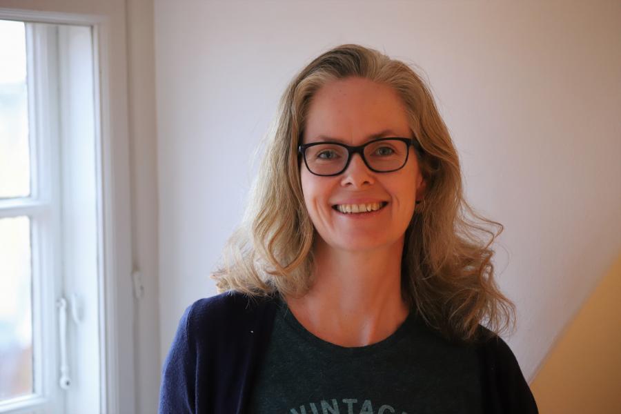 Bibliotekar Ulla Fajfer
