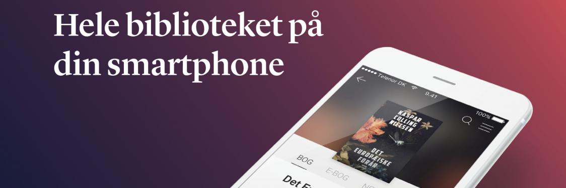 Hele biblioteket på din smartphone